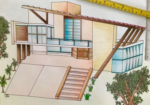 Traditional Sustainable Architecture Project. by CamilaKL