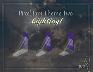 Lighting Pixel Jam by RatTheUnloved