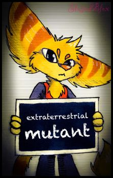 Extraterrestrial mutant by Stasia28fox