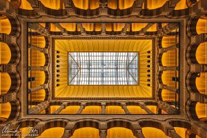 Amsterdam Magna Plaza Ceiling by Nightline