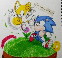 SonicTails by ZiimyDiff13