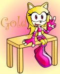Gold the hedgehog RQ by Pavagat