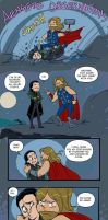 Avengers Observations: Loki and Thor by Lepas