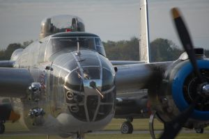 B-25J 'Old Glory' Taxiing - Doolittle Raid 70th by comradeloganov