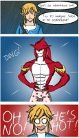 OH NO! Sidon's Hot! by fuh039