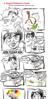 Pokemon Comic -- JOEY by littlelenore