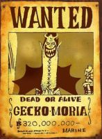 wanted gecko moria by San999
