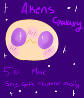 Akens Galaxy by InkSansPaints