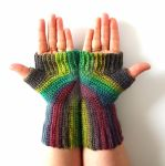 Concentric Gloves Commission by FearlessFibreArts