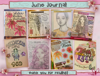 June Journal 2017 by oooangelicartooo