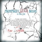 MM Crack Brush Set for PS by MagpieMagic