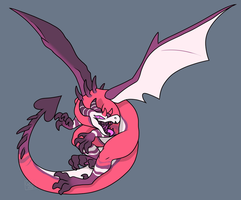 Flying Menace by Gingerbread-C