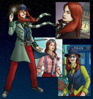 Ruth Wilson as The Doctor by PaulHanley