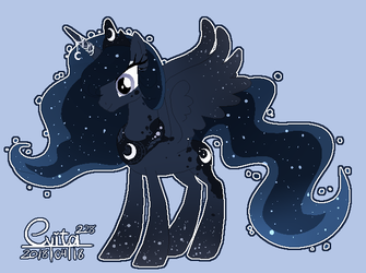 : Luna re-design : by Serri765