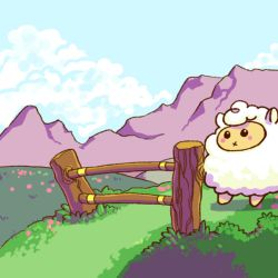Gif: Sheep by grimalkn