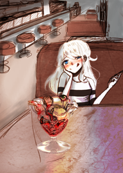 Dinner Date ~Request~ by PuellaMagicaGal666