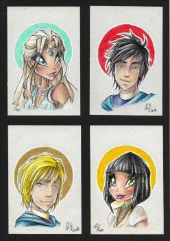 Trad portraits 4 by Saku28