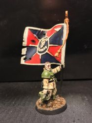 Imperial Guard Flagbearer by brothersdude