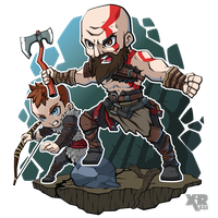 FA God of War by XaR623
