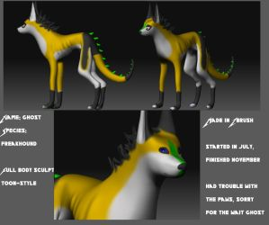 Ghost's 3D model by DarkStory