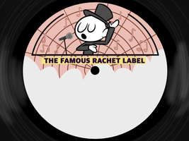 Rachet Records Label by rachetcartoons