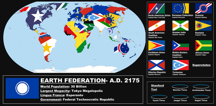 New World Order: 2175 A.D. by improbableSpace