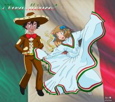 Amourshipping Ash X Serena: Viva Mexico by mglm12