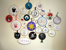 Hoopla Wall Update by VickitoriaEmbroidery