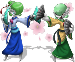 Comm: Dance of the Flowers by FayeleneFyre