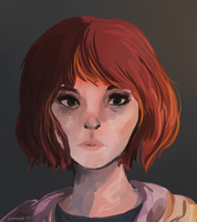 Max Caulfield // Speed painting by lumiorah
