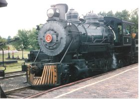 Saginaw Timber #2 at the Depot Platform by PRR8157