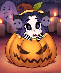 Pumpkin YCH for Stevie by RoseandherThorns