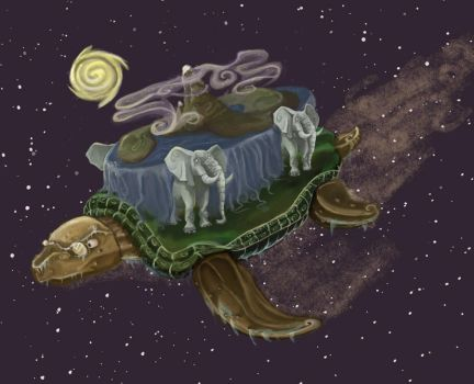 The Great A'tuin by Siamoize