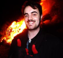 Me at Bonfire Night by markeverard
