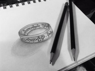 Day #12 , The One Ring by crazyskullz1021