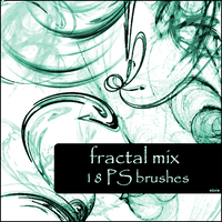 fractal mix brushes by szuia