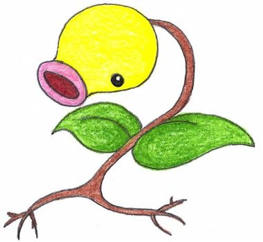 bellsprout by FrozenFeather