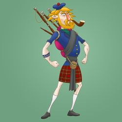 The Scotsman by SeanDrawn