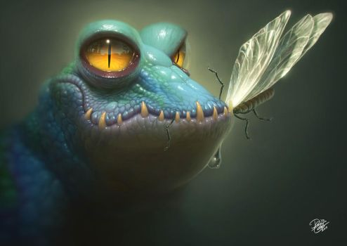 Small Reptile by Disse86