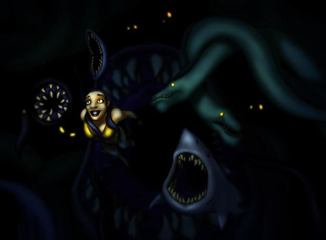 Aquaphobia by BlondinFrenchTouch