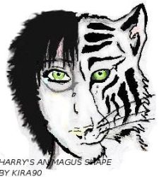 Harry's Animagus Shape by WolfLaugh