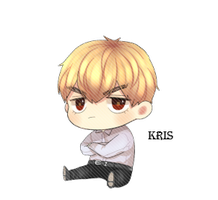EXO Kris Chibi PNG by SooyoungLover