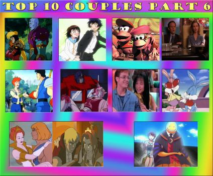 Top 10 Couples Part 6 by RollZero