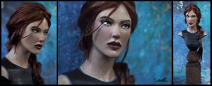 :.AOD Lara.: by XPantherArtX