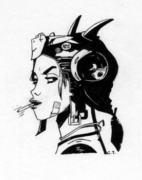 Tank Girl I by skate-alco