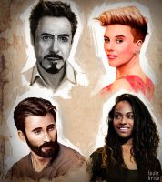 Some portraits to study by LouizBrito