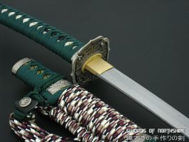 Hand Forged Traditional Japanese Tachi 3 by swordsofnorthshire