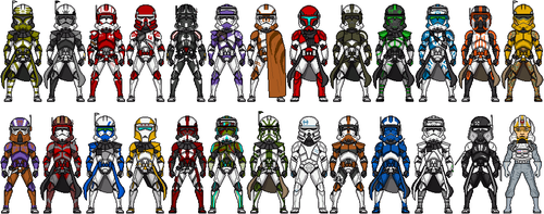 Clone Commanders of the ROGUE by Gonza87rg