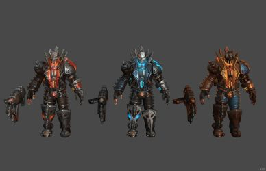 'Heroes of the Storm' Raynor Roadraider XPS ONLY!! by lezisell