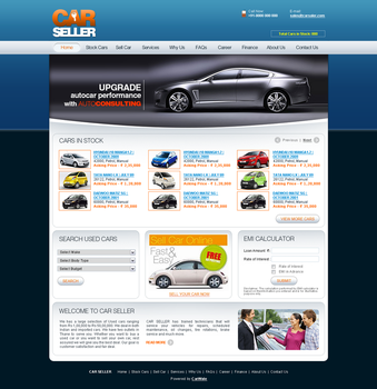 Carwale Dealers Template Template by gufranshaikh